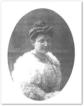 Portret Zofii Teodory Marii Szembekówny.