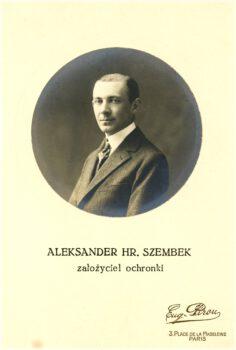 Portret Aleksandra Szembeka