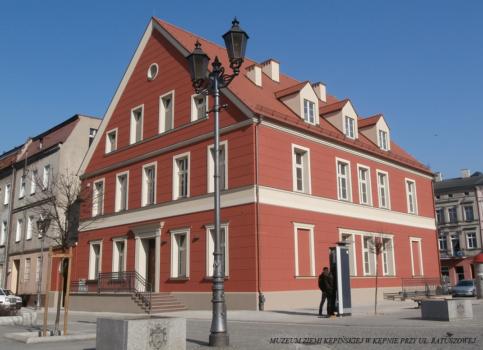 Budynek Muzeum Ziemi Kępińskiej
