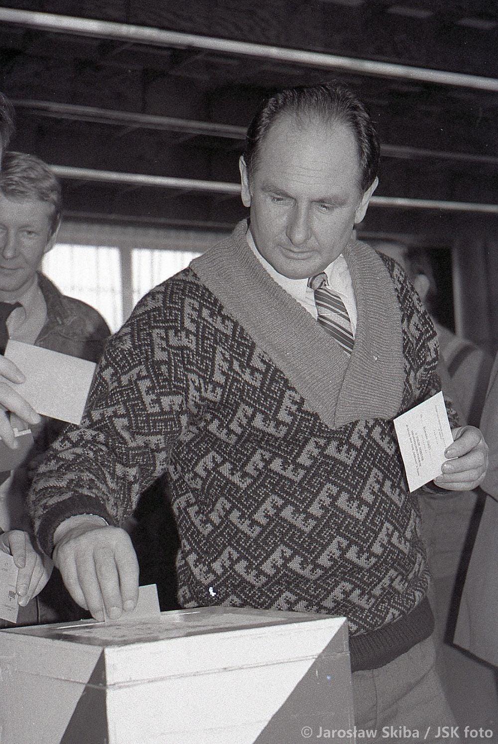 """Wybory do MKO """"Solidarność"""". Kępno 16.02.1990 r."""