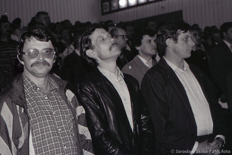 I Sesja Rady Gminy i Miasta Kępno. 7.06.1990 r. fot. ze zbiorów Jarosława Skiby