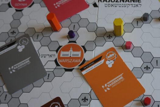 Zdjęcie gry planszowej krajoznanie