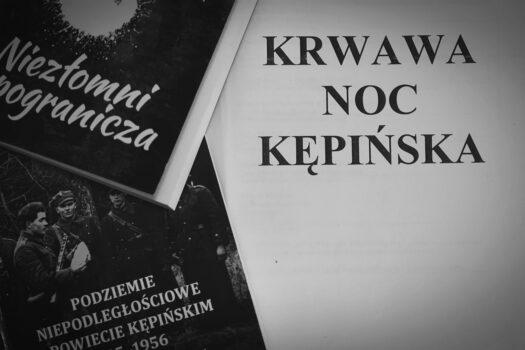 Krwawa Noc Kępińska zdjęcie książek