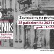 Plakat 6 Rocznika Muzeum Ziemi Kępińskiej im. T. P. Potworowskiego promocja 28.10.2021 r. o godz. 18:00
